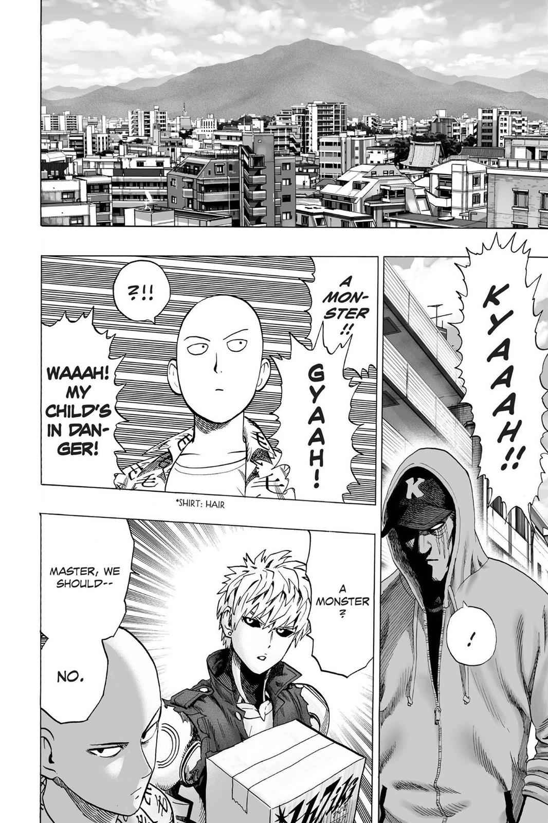 One-Punch Man Chapter 38 Page 20