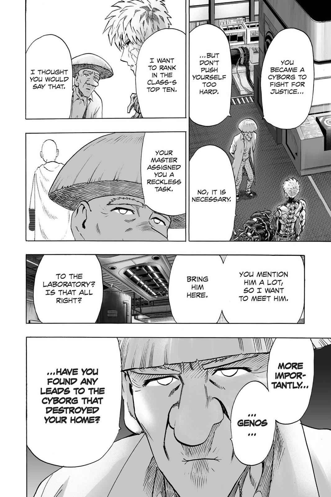 One-Punch Man Chapter 40 Page 4