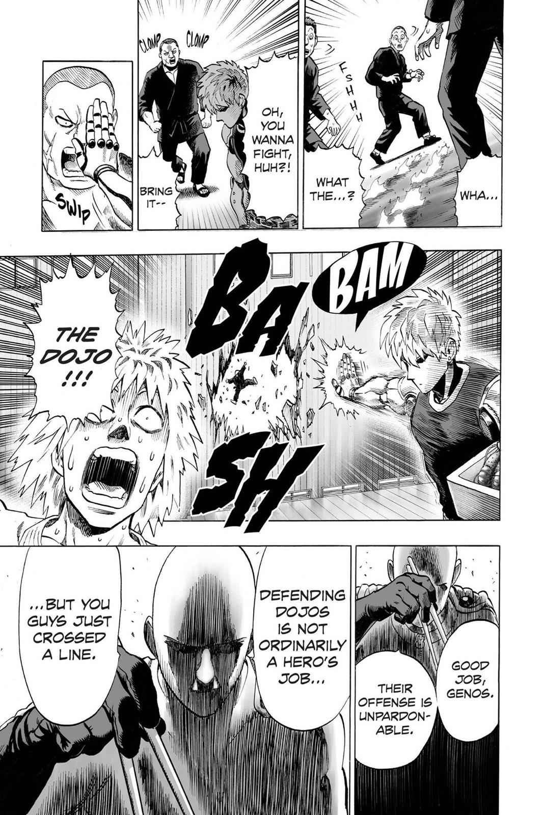 One-Punch Man Chapter 40.6 Page 17