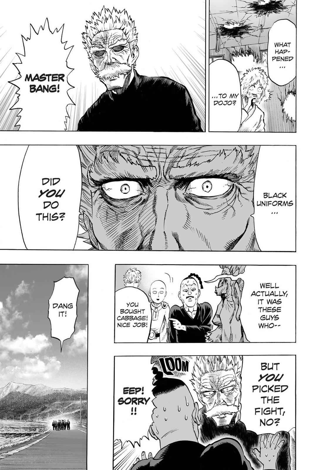 One-Punch Man Chapter 40.6 Page 19