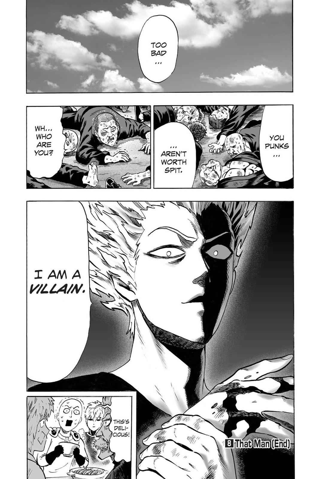 One-Punch Man Chapter 40.6 Page 21