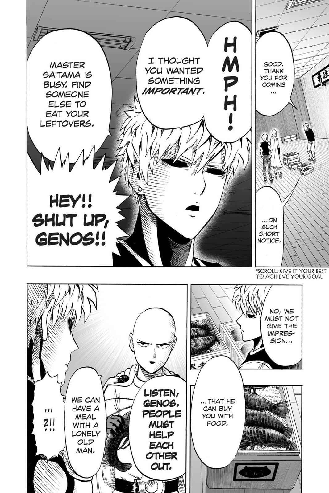 One-Punch Man Chapter 40.6 Page 4
