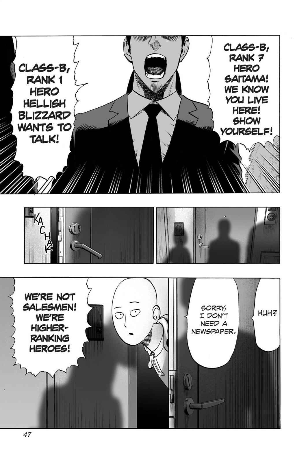 One-Punch Man Chapter 42 Page 12
