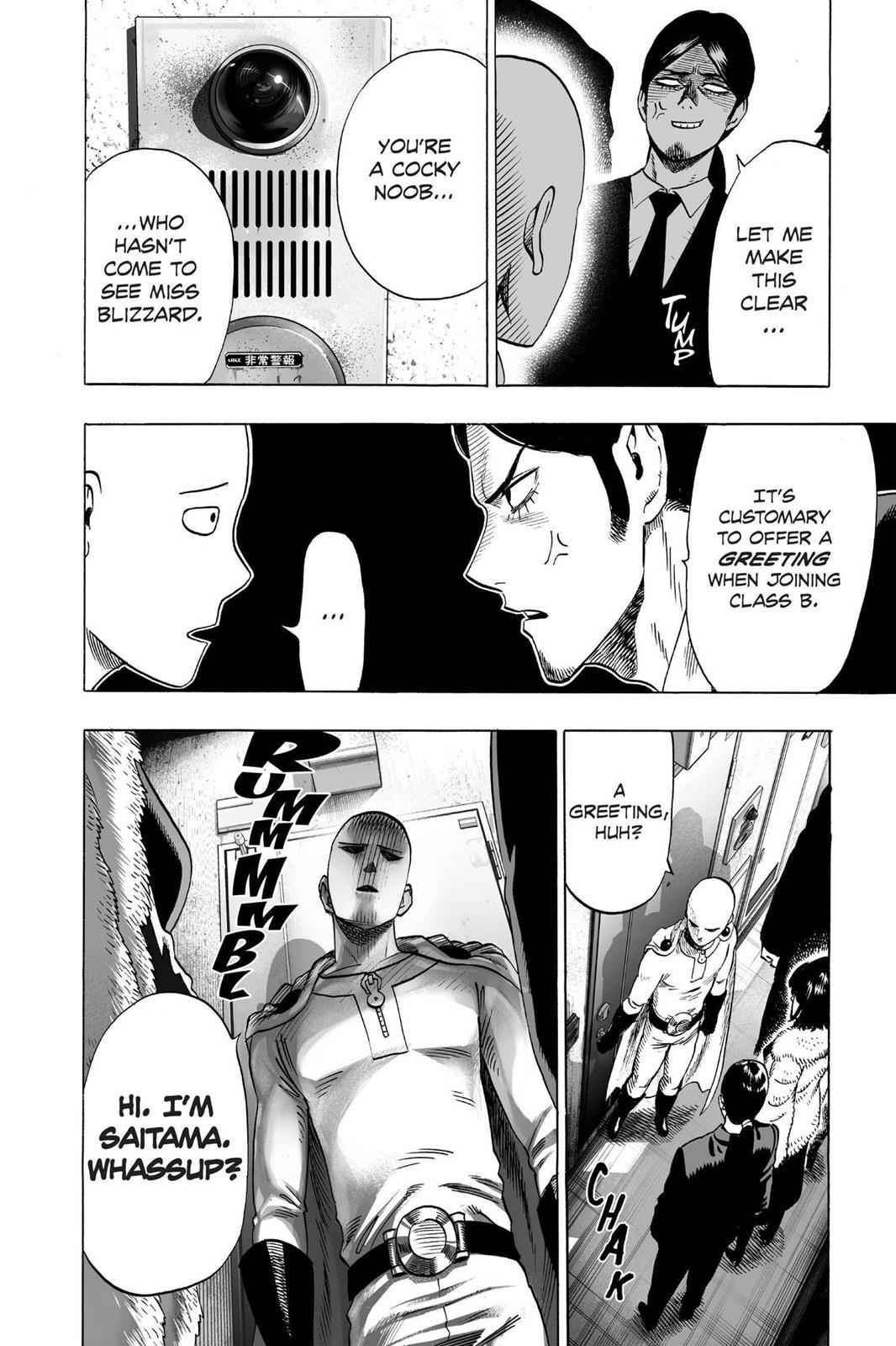 One-Punch Man Chapter 42 Page 15