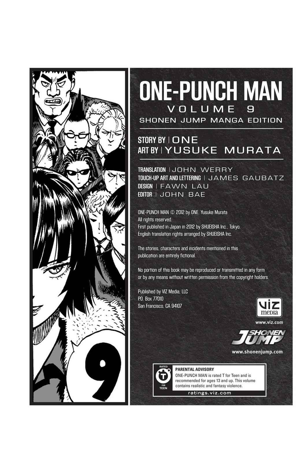 One-Punch Man Chapter 47.5 Page 10