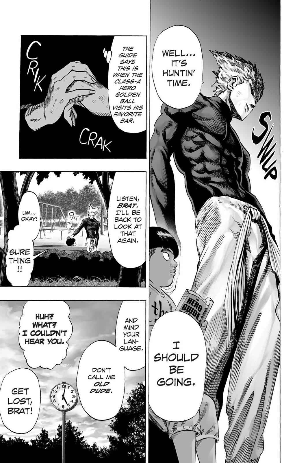 One-Punch Man Chapter 49 Page 4