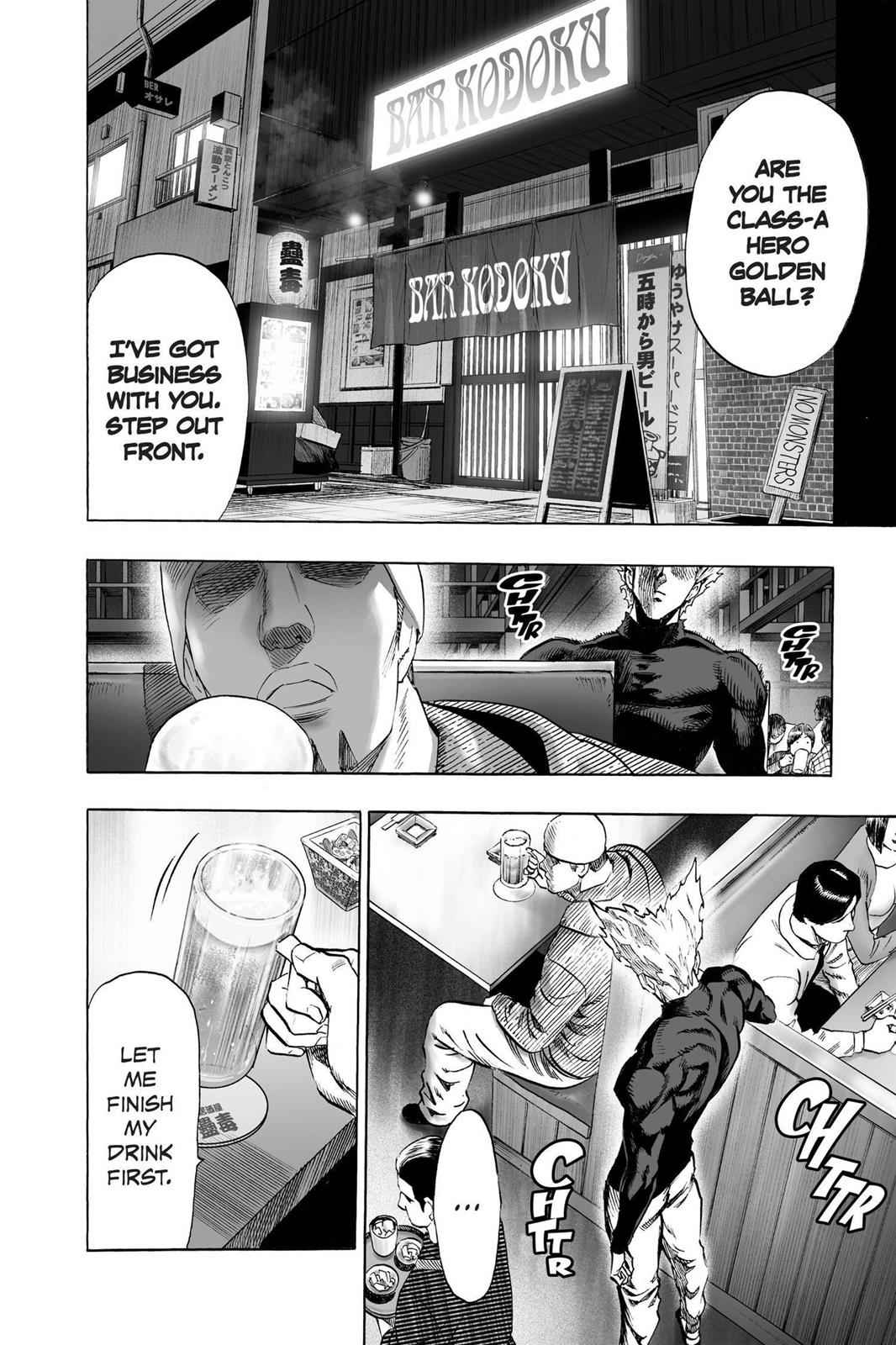 One-Punch Man Chapter 50 Page 2