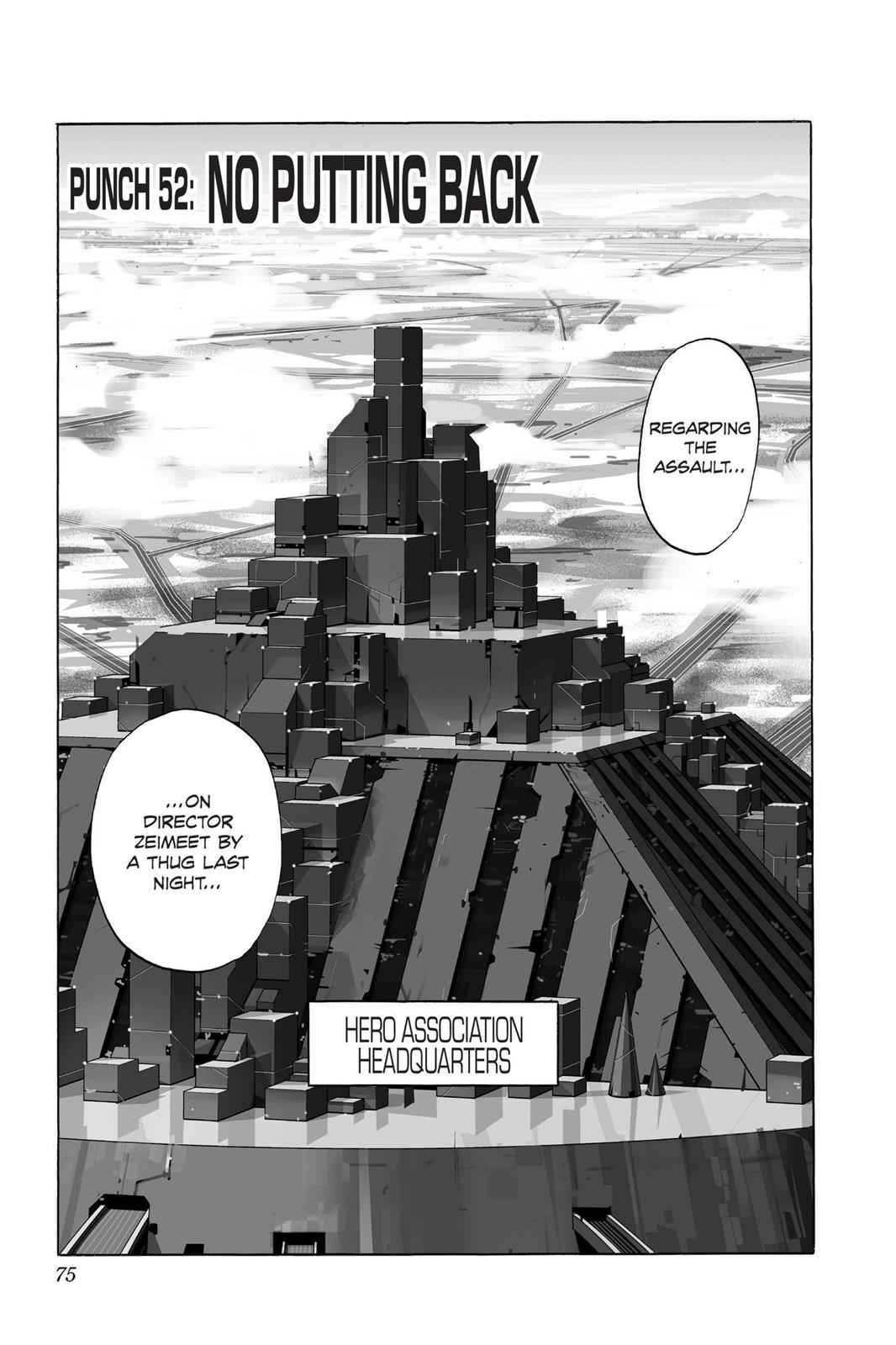 One-Punch Man Chapter 52 Page 1