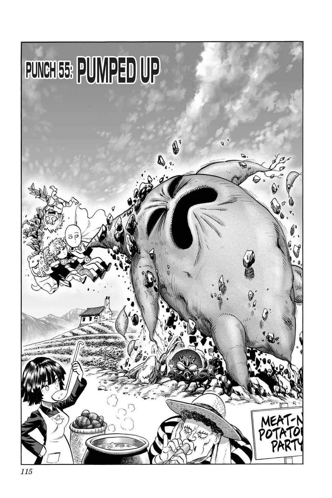 One-Punch Man Chapter 55 Page 1