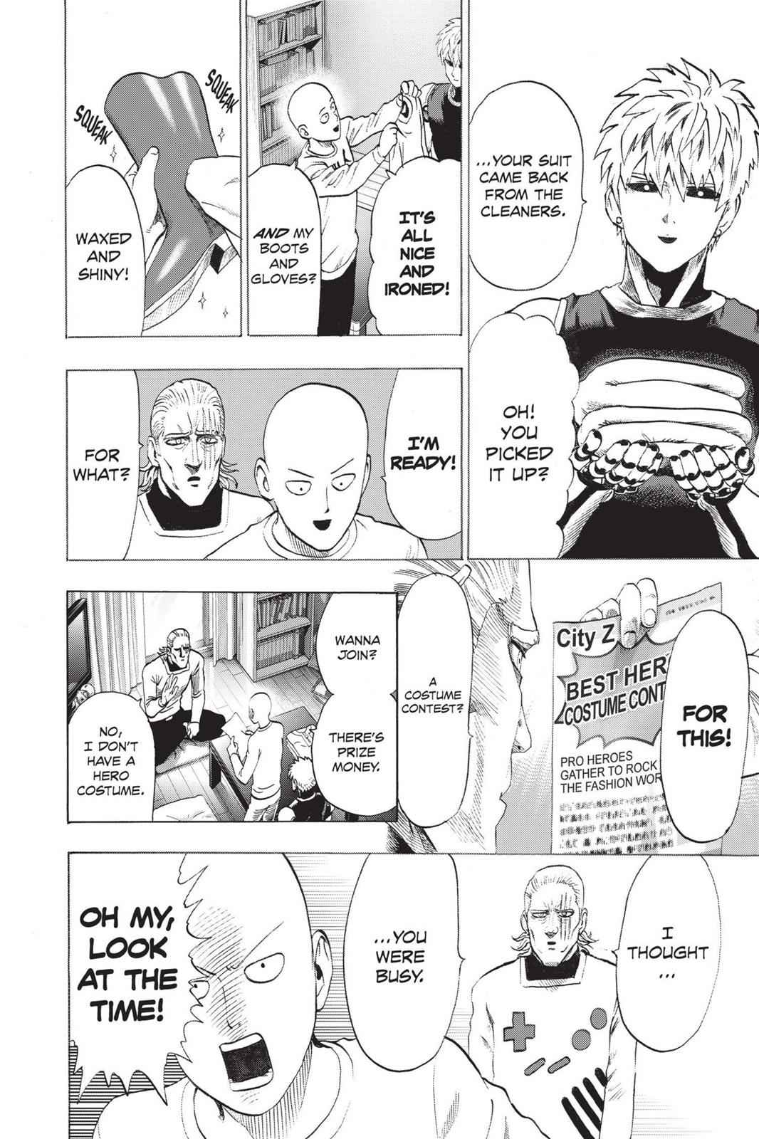 One-Punch Man Chapter 55.6 Page 3