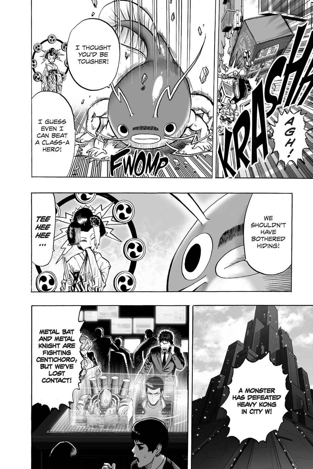 One-Punch Man Chapter 61 Page 21