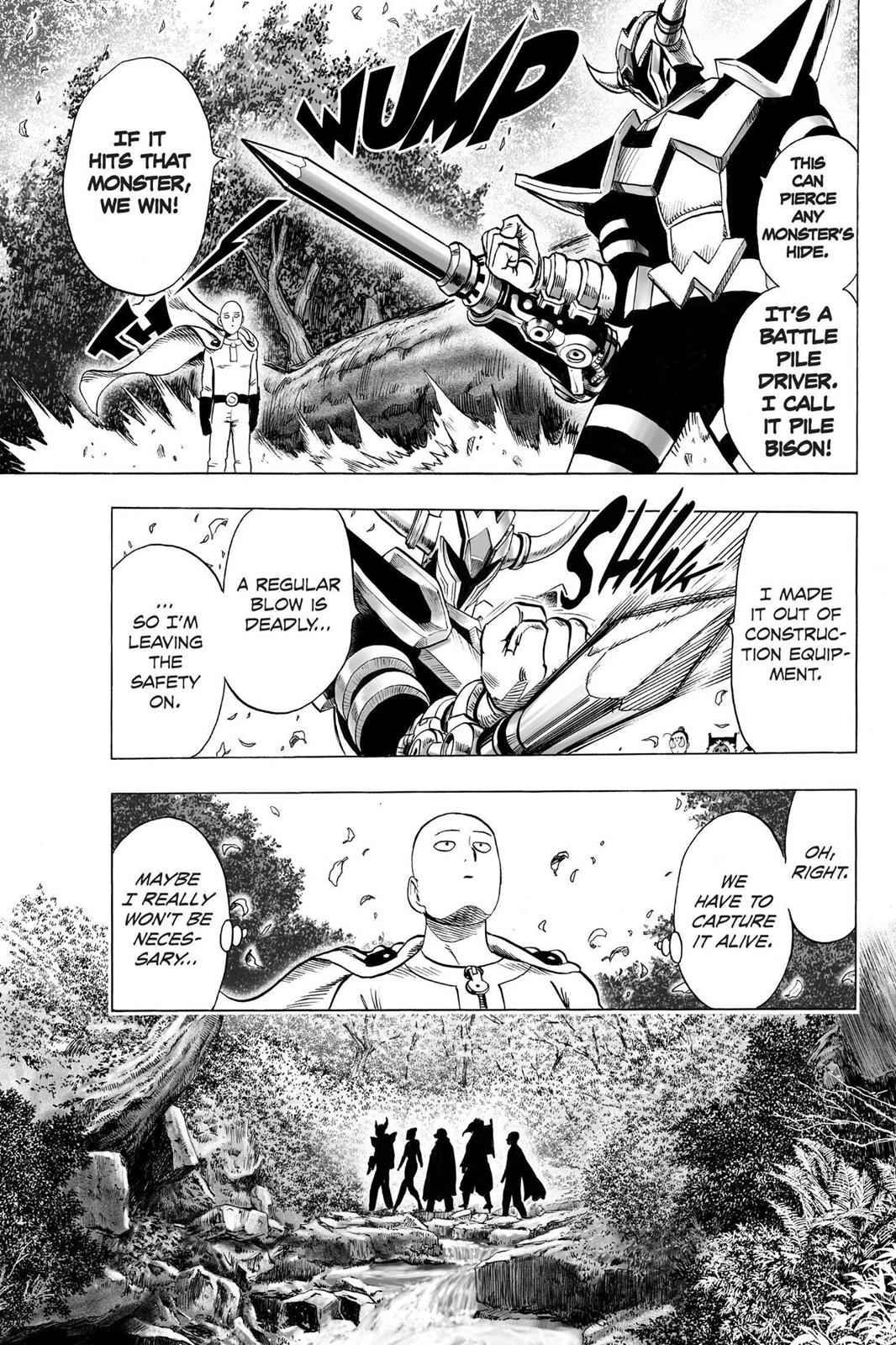 One-Punch Man Chapter 61.5 Page 12