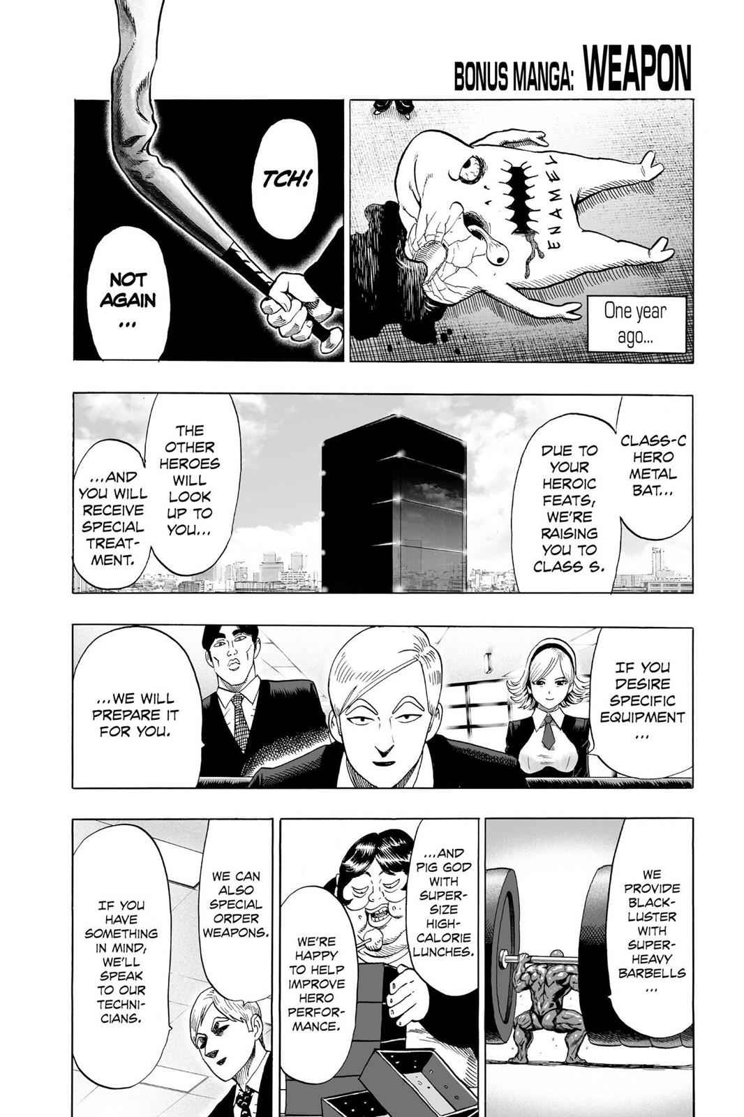 One-Punch Man Chapter 61.5 Page 31