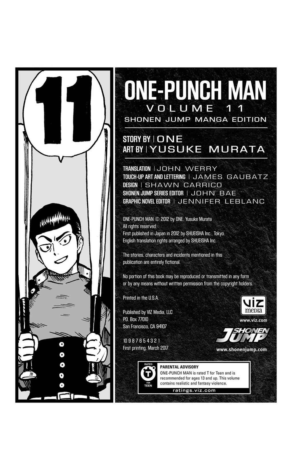 One-Punch Man Chapter 61.5 Page 36