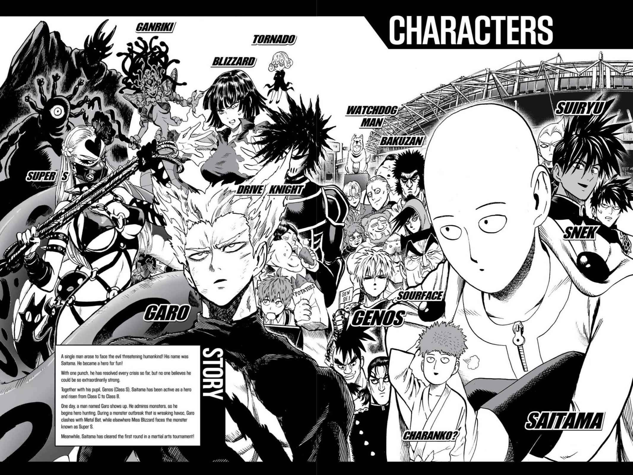 One-Punch Man Chapter 62 Page 5