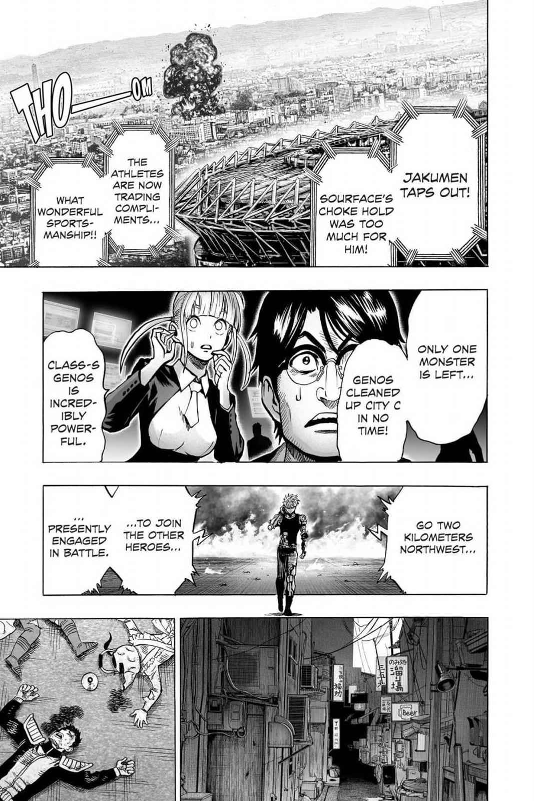 One-Punch Man Chapter 63 Page 31