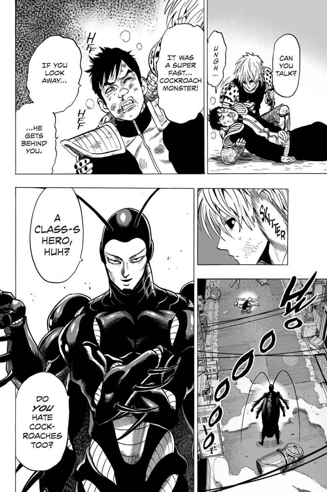 One-Punch Man Chapter 63 Page 32