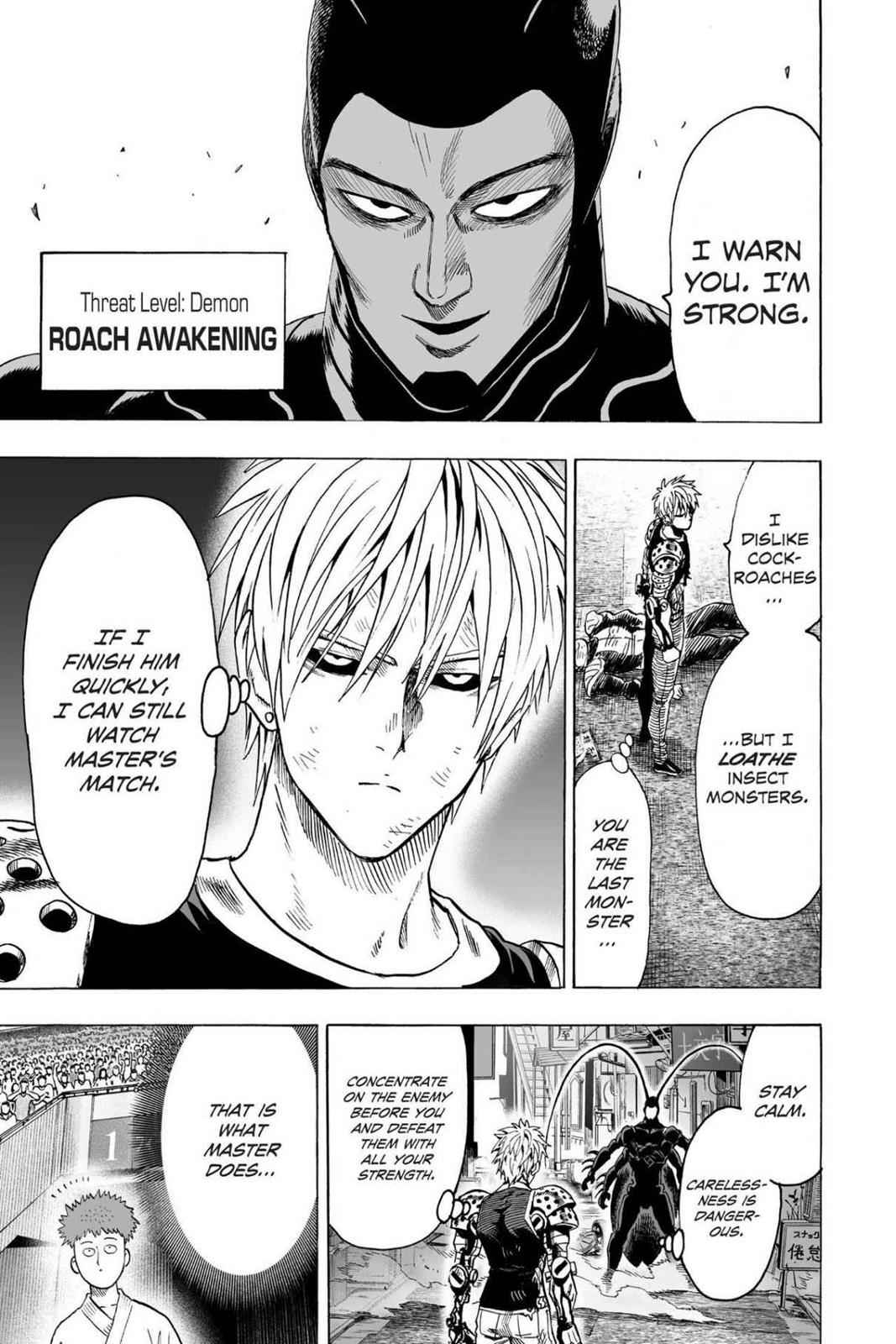 One-Punch Man Chapter 63 Page 33