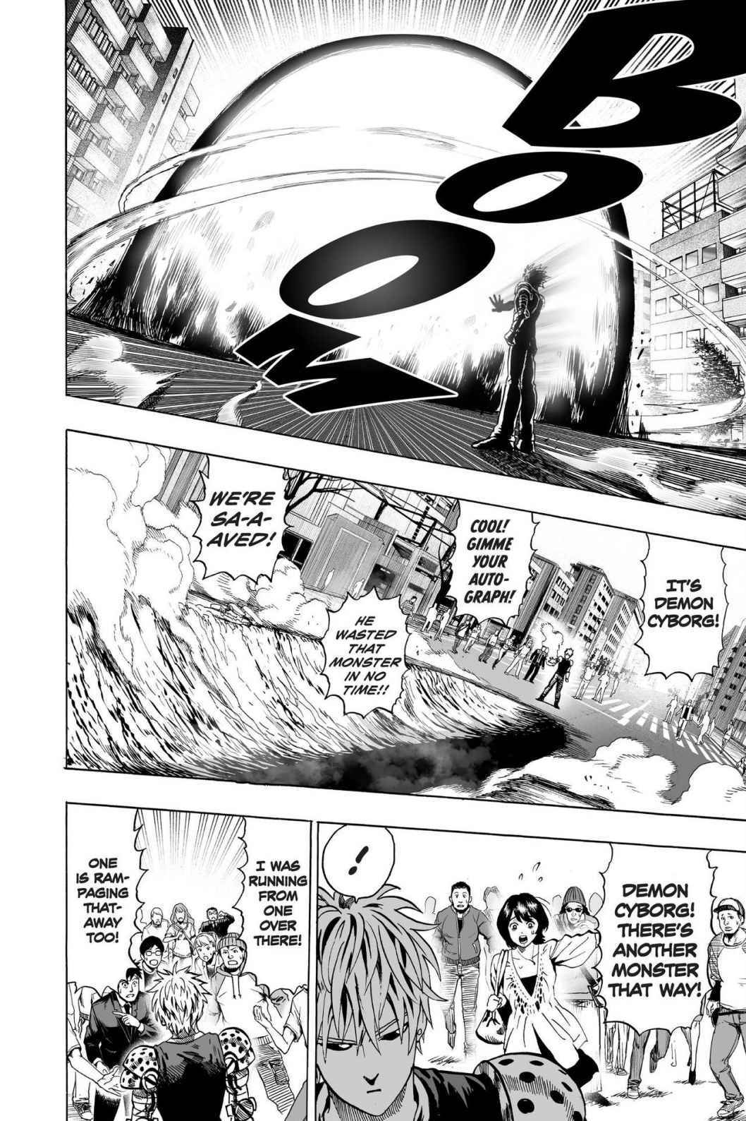One-Punch Man Chapter 63 Page 9