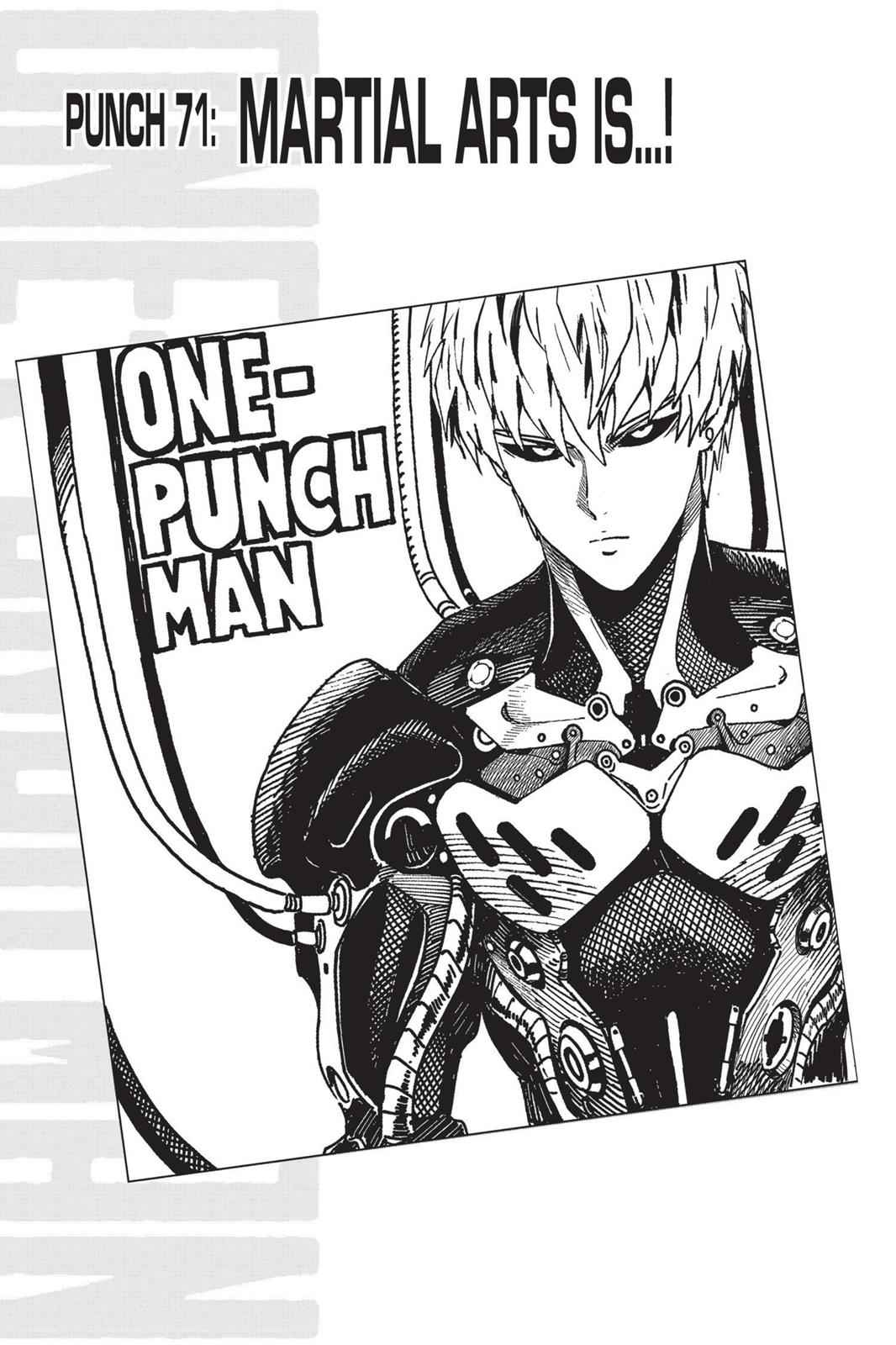 One-Punch Man Chapter 71 Page 1