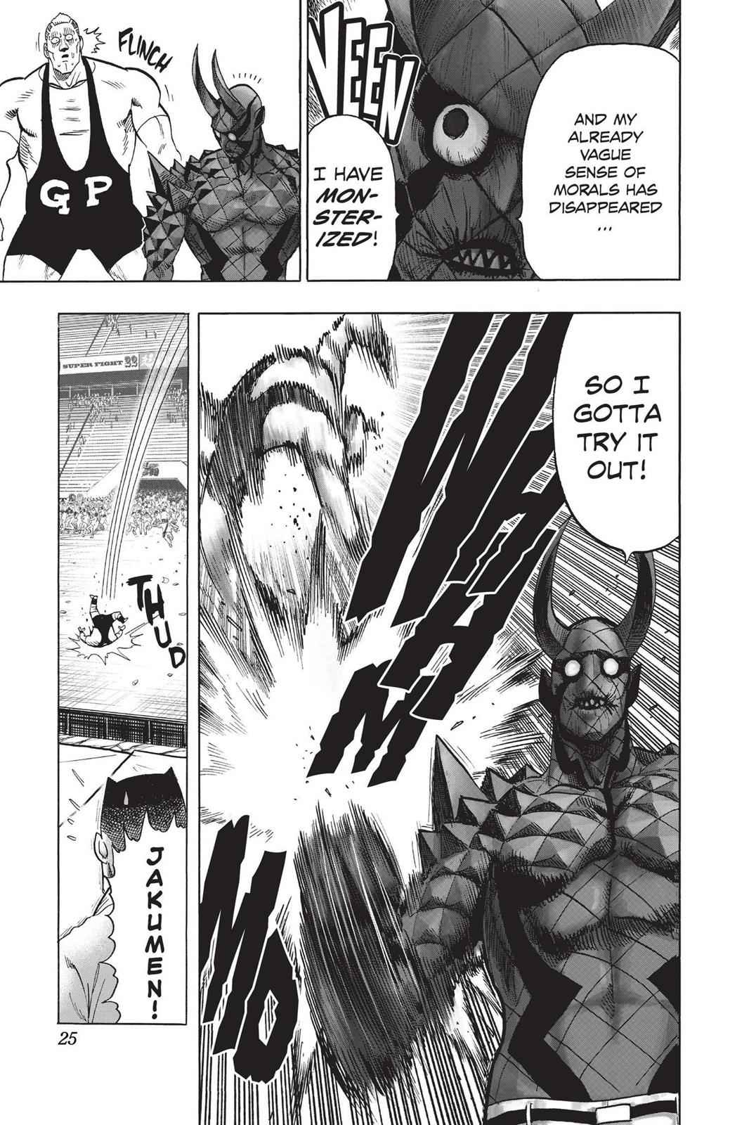 One-Punch Man Chapter 72 Page 25