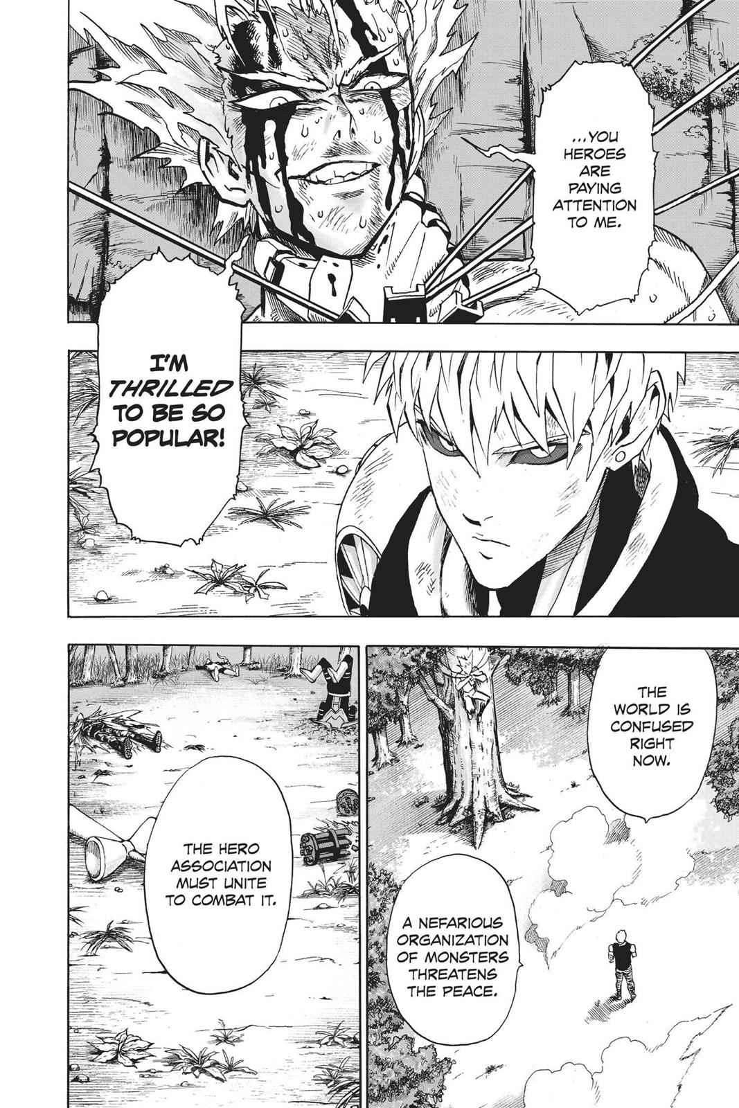 One-Punch Man Chapter 83 Page 28