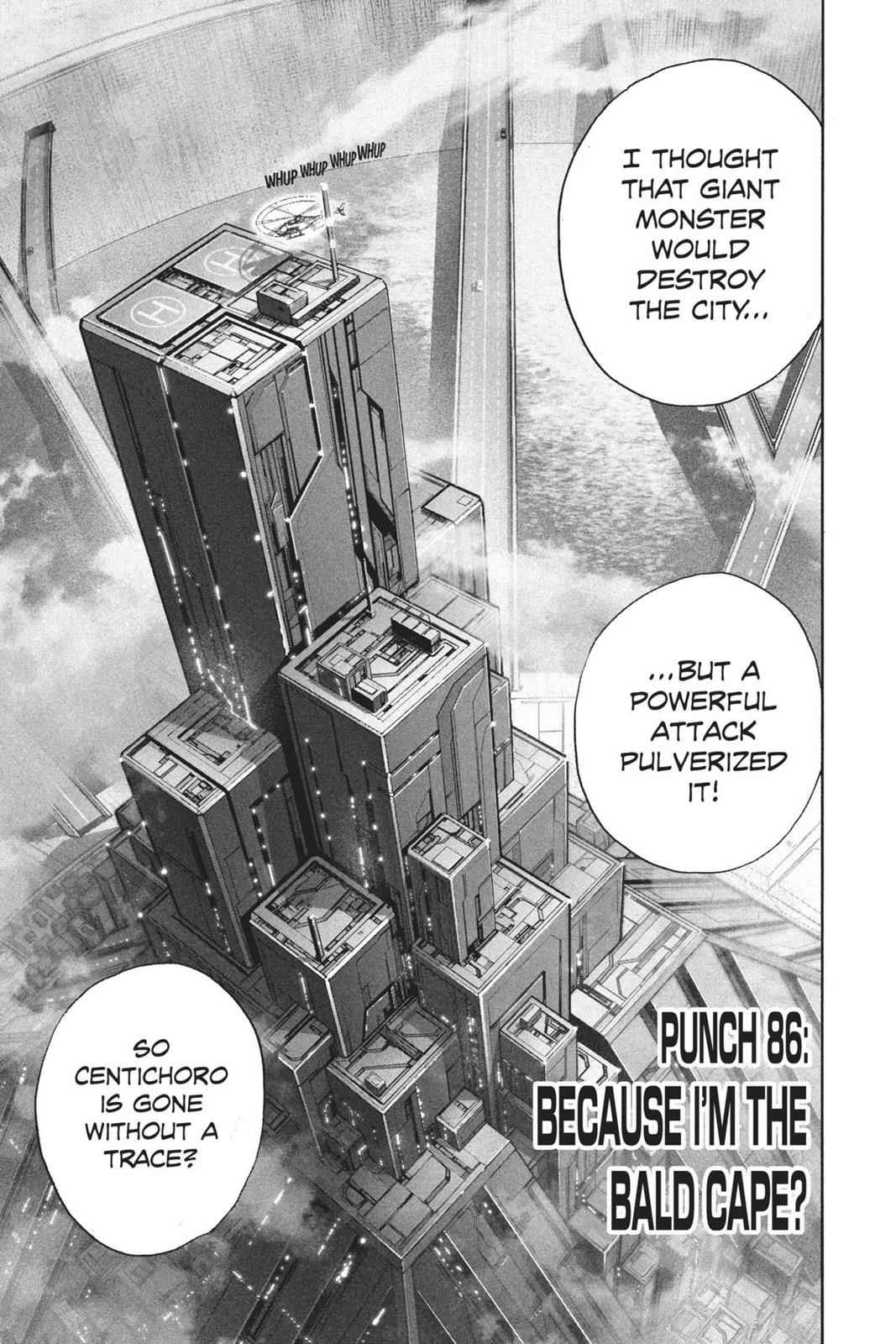 One-Punch Man Chapter 86 Page 1