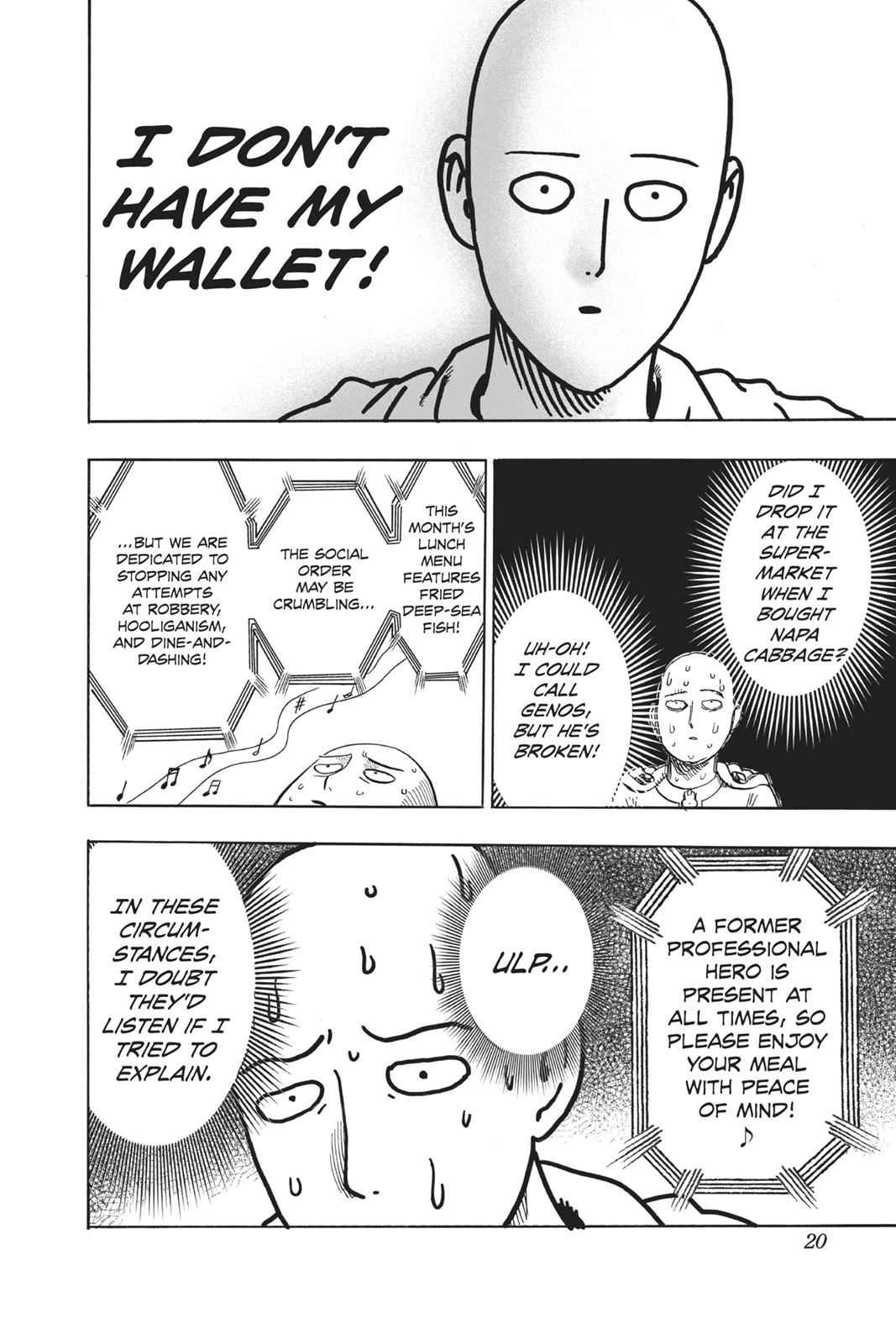One-Punch Man Chapter 88 Page 20