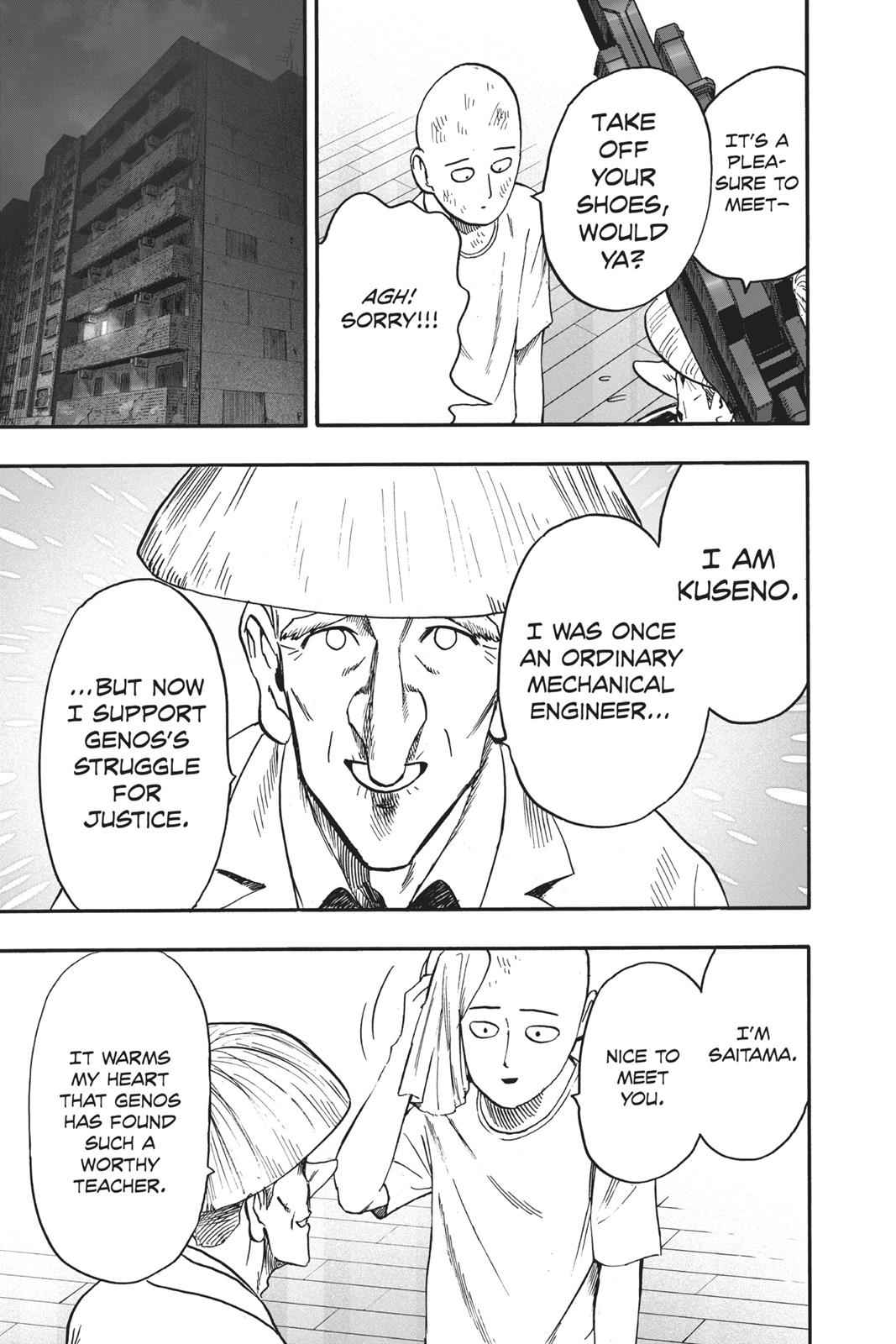 One-Punch Man Chapter 90 Page 21