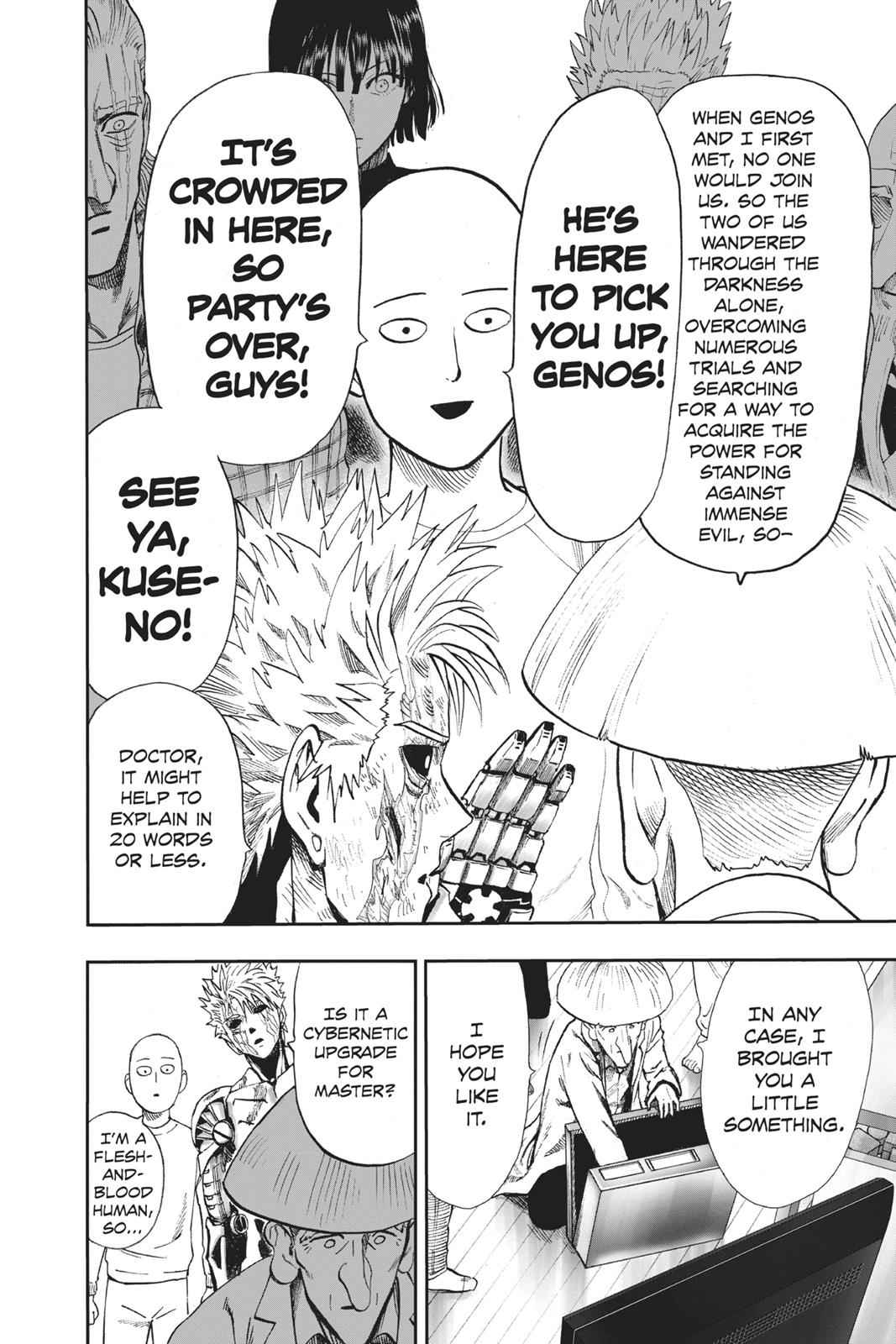 One-Punch Man Chapter 90 Page 22
