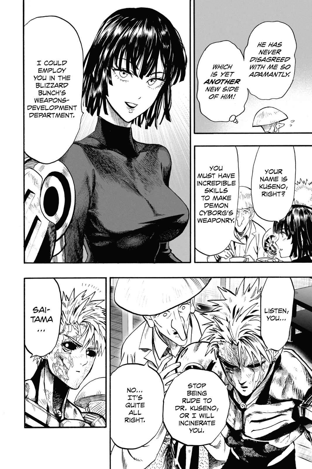 One-Punch Man Chapter 91 Page 27