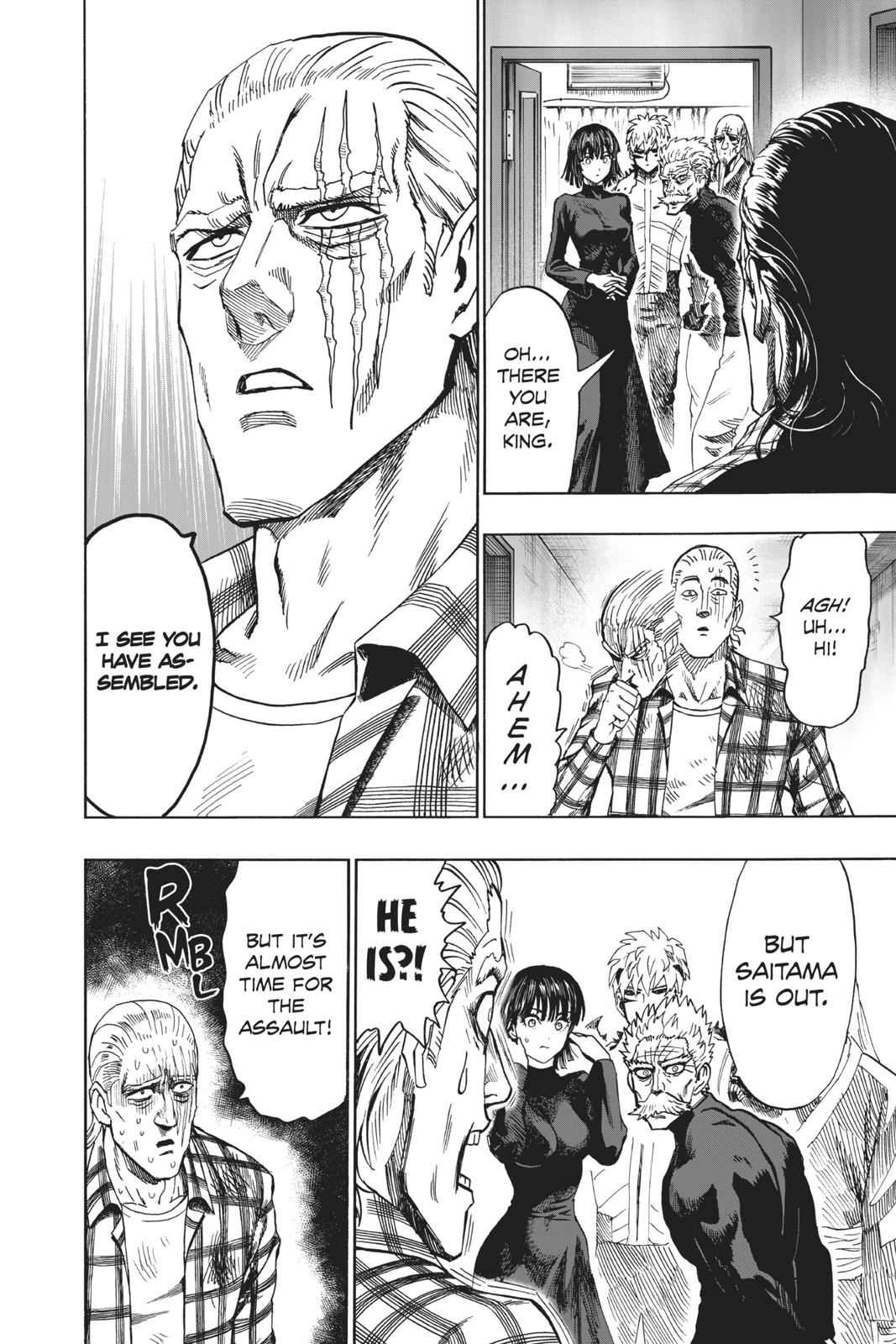 One-Punch Man Chapter 95 Page 71