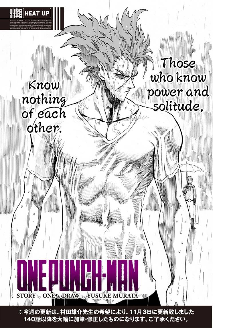 One-Punch Man Chapter 99 Page 1