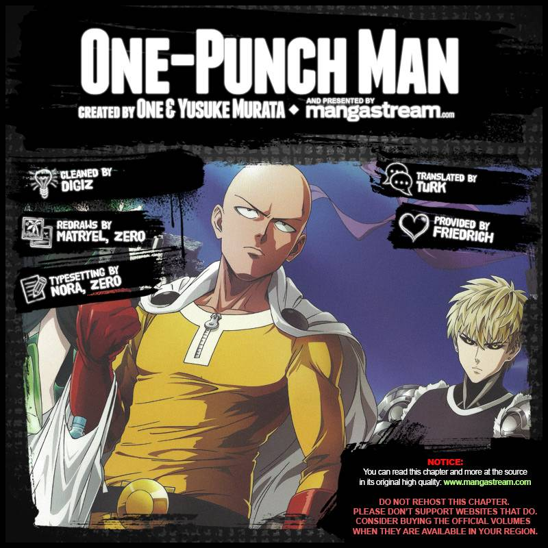 One-Punch Man Chapter 99.1 Page 3