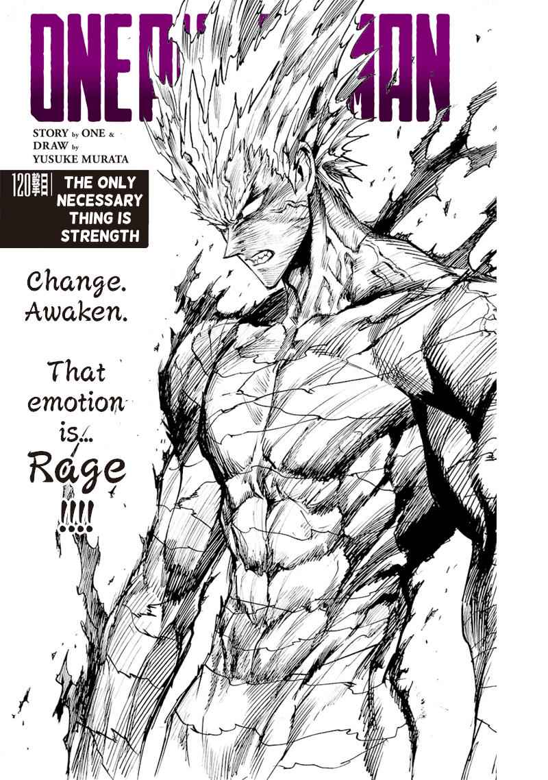 One-Punch Man Chapter 120 Page 1
