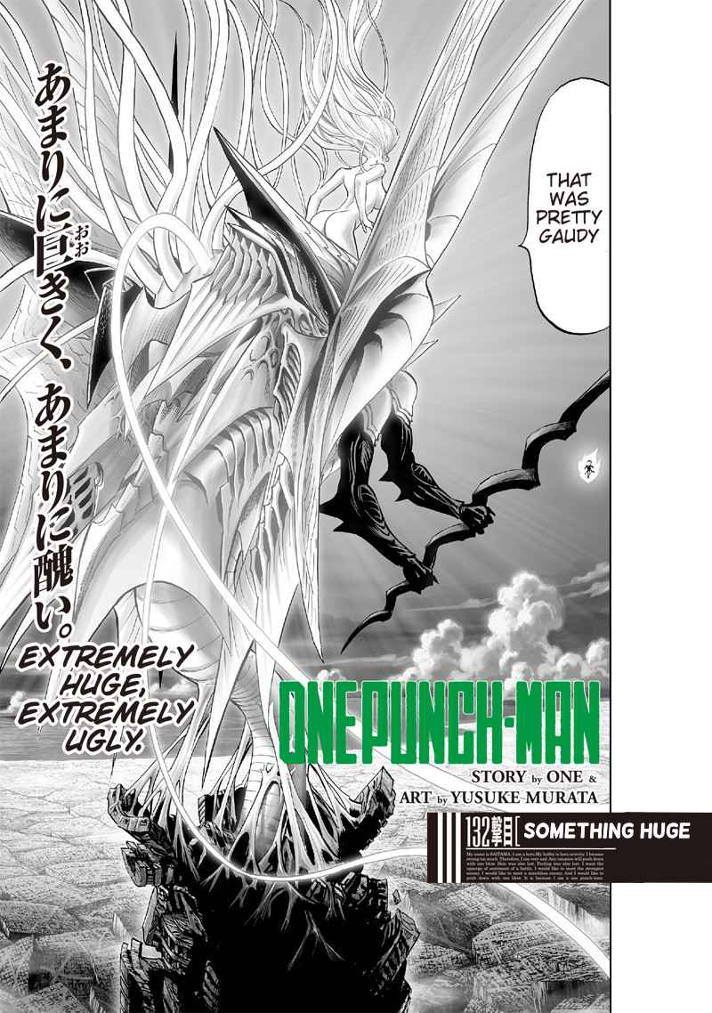 One-Punch Man Chapter 132 Page 1