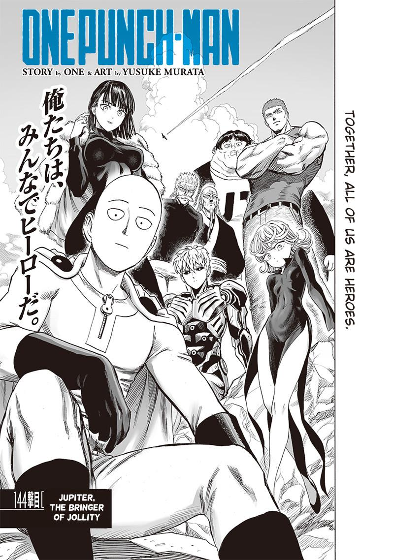 One-Punch Man Chapter 143 Page 1