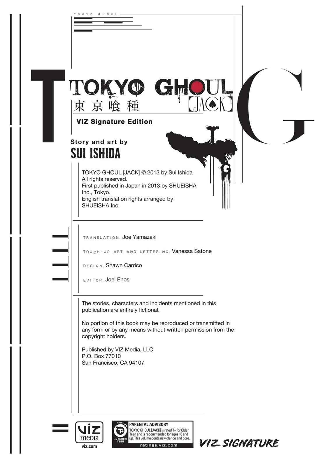 Tokyo Ghoul - Jack Chapter 1 Page 3