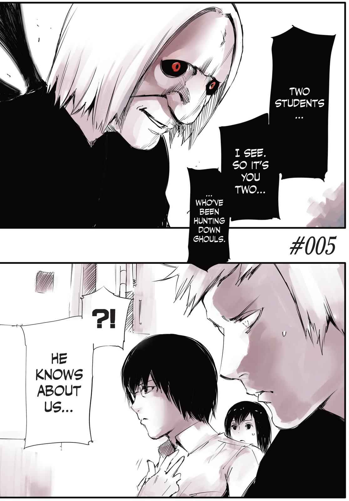 Tokyo Ghoul - Jack Chapter 5 Page 1