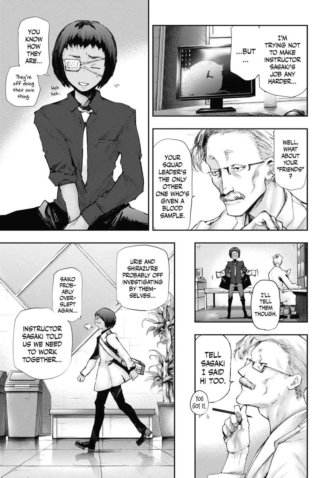 Tokyo Ghoul:re Chapter 1 Page 14