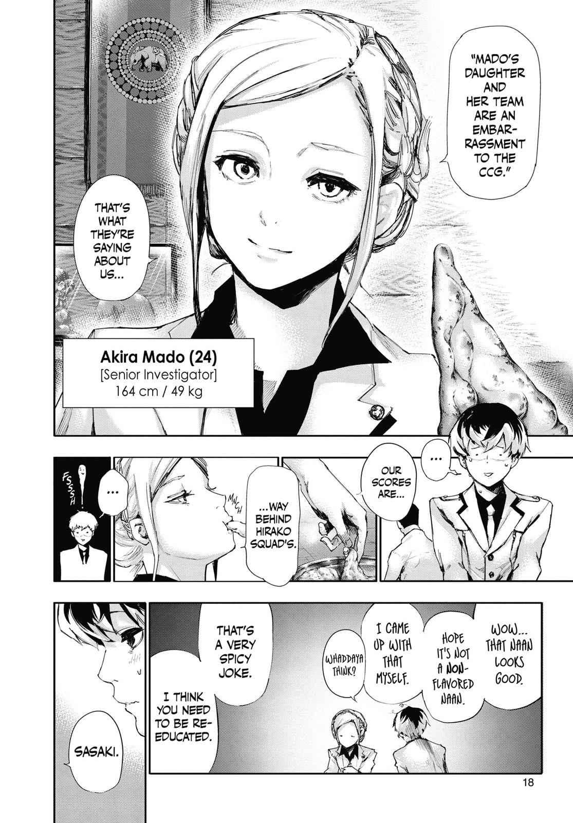 Tokyo Ghoul:re Chapter 1 Page 17