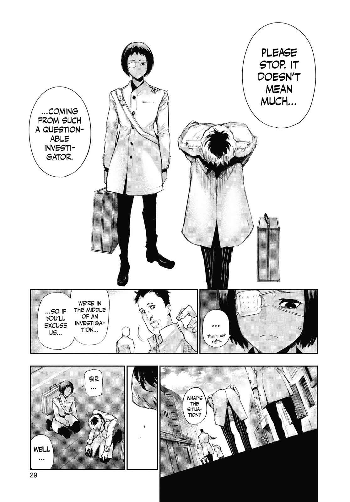 Tokyo Ghoul:re Chapter 1 Page 28