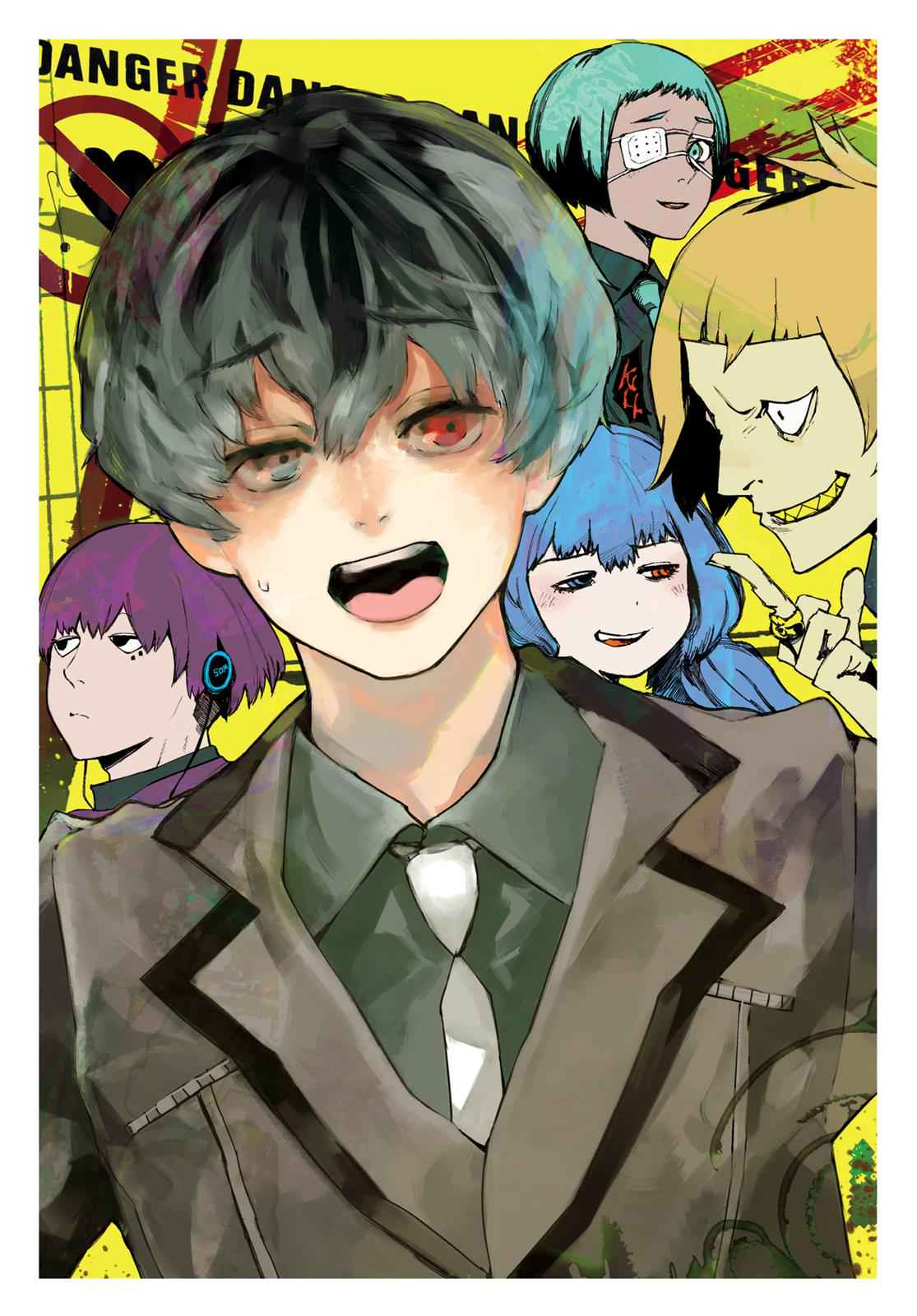 Tokyo Ghoul:re Chapter 1 Page 4