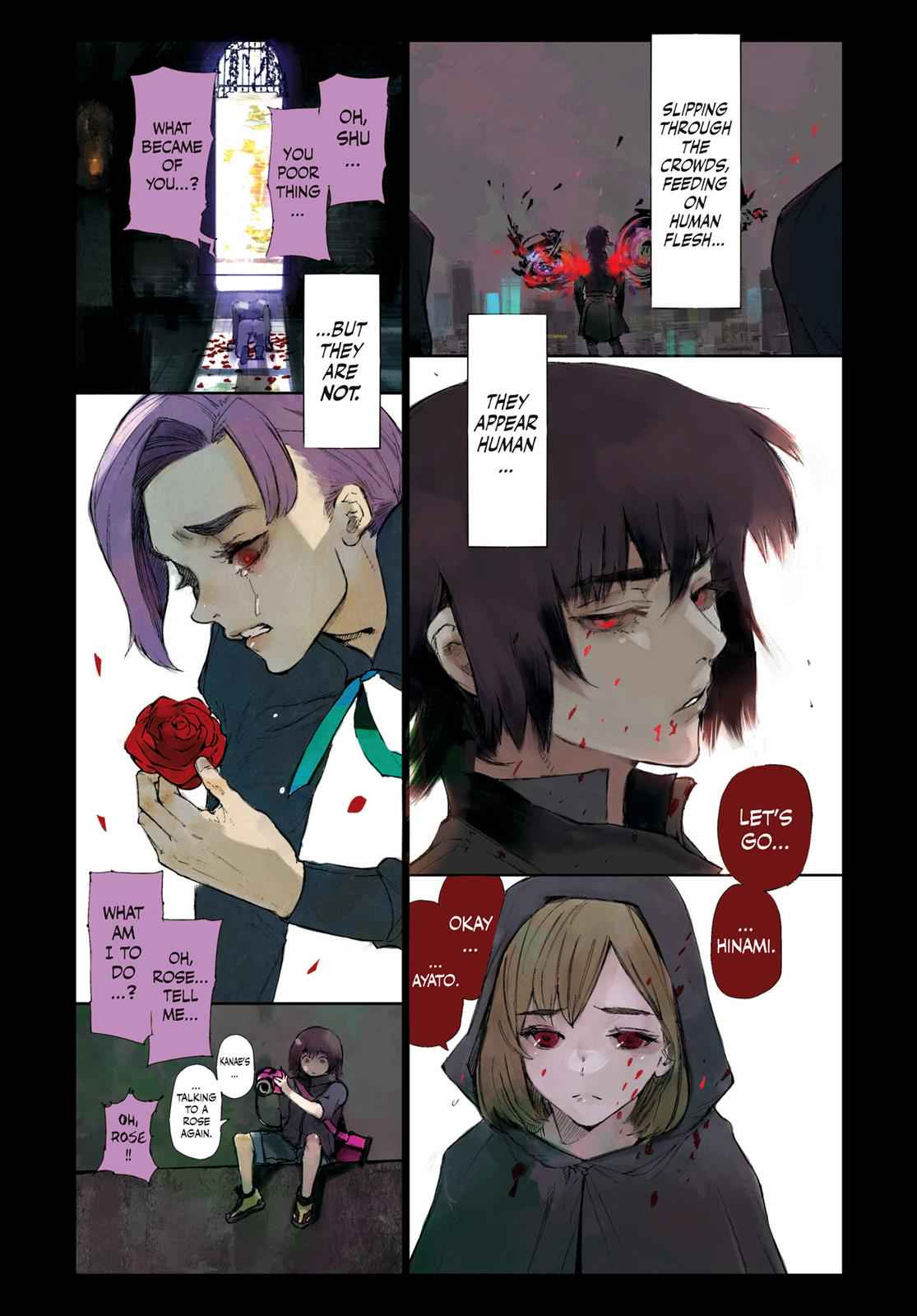 Tokyo Ghoul:re Chapter 1 Page 5