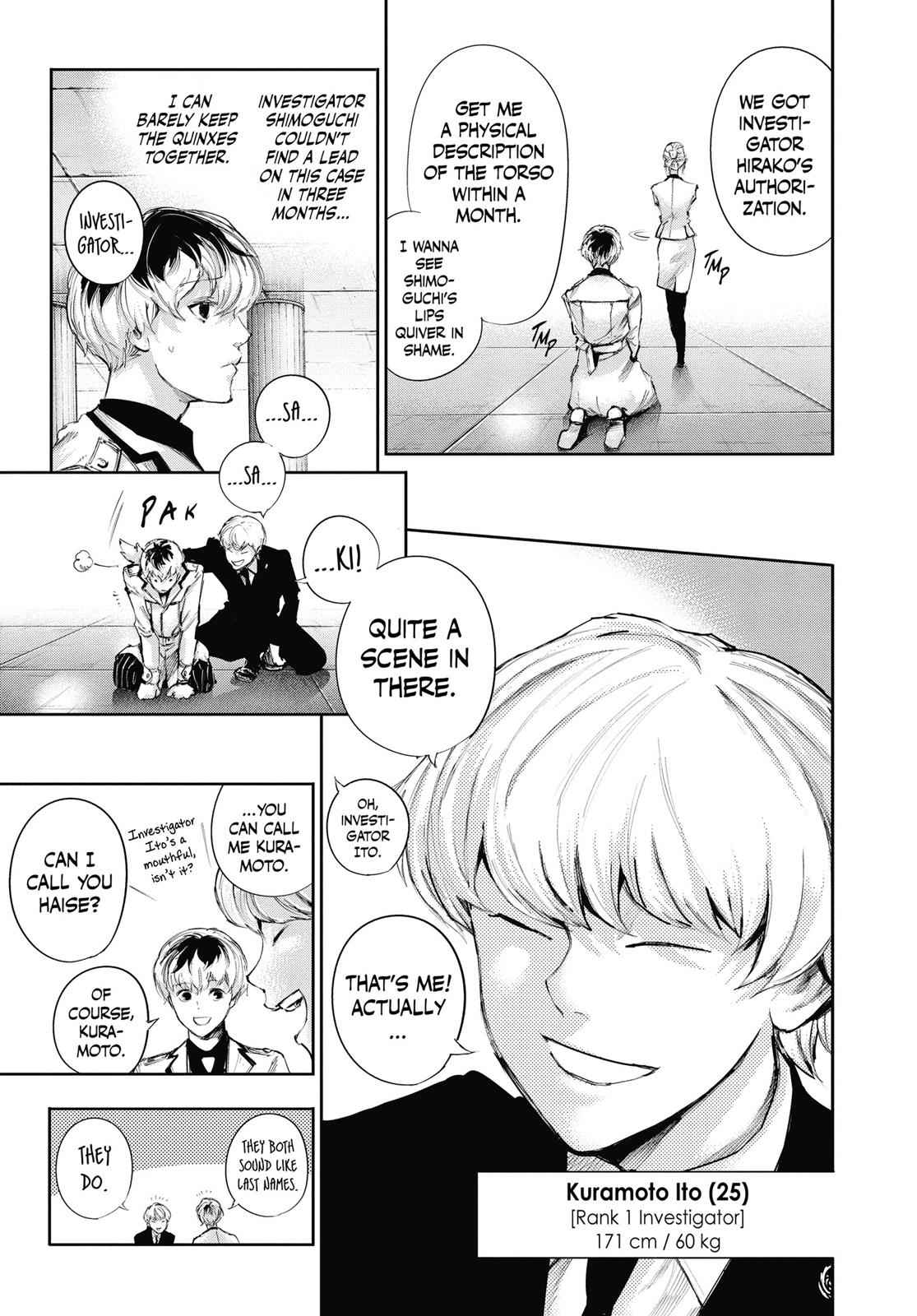 Tokyo Ghoul:re Chapter 2 Page 13