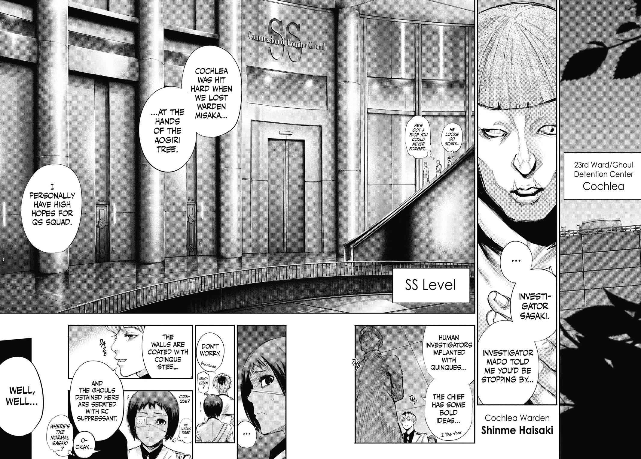 Tokyo Ghoul:re Chapter 3 Page 12