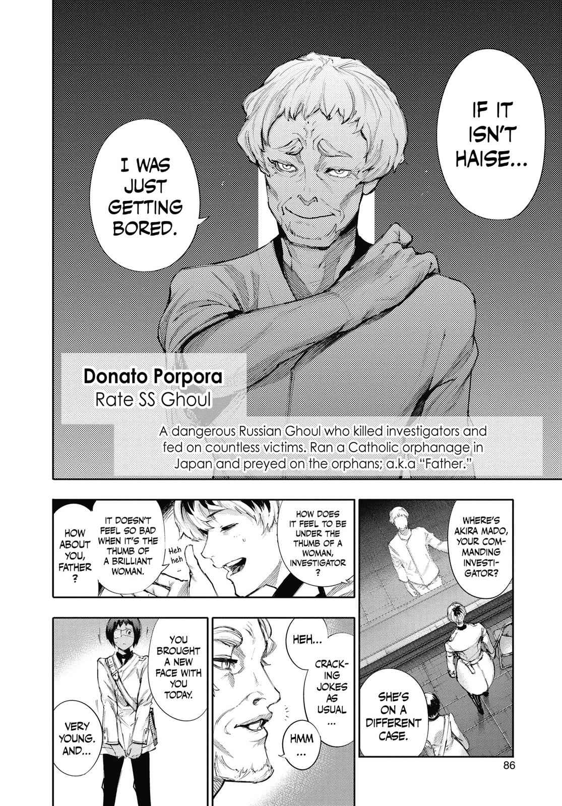 Tokyo Ghoul:re Chapter 3 Page 13