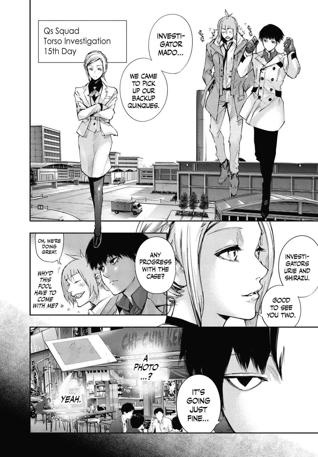 Tokyo Ghoul:re Chapter 4 Page 4