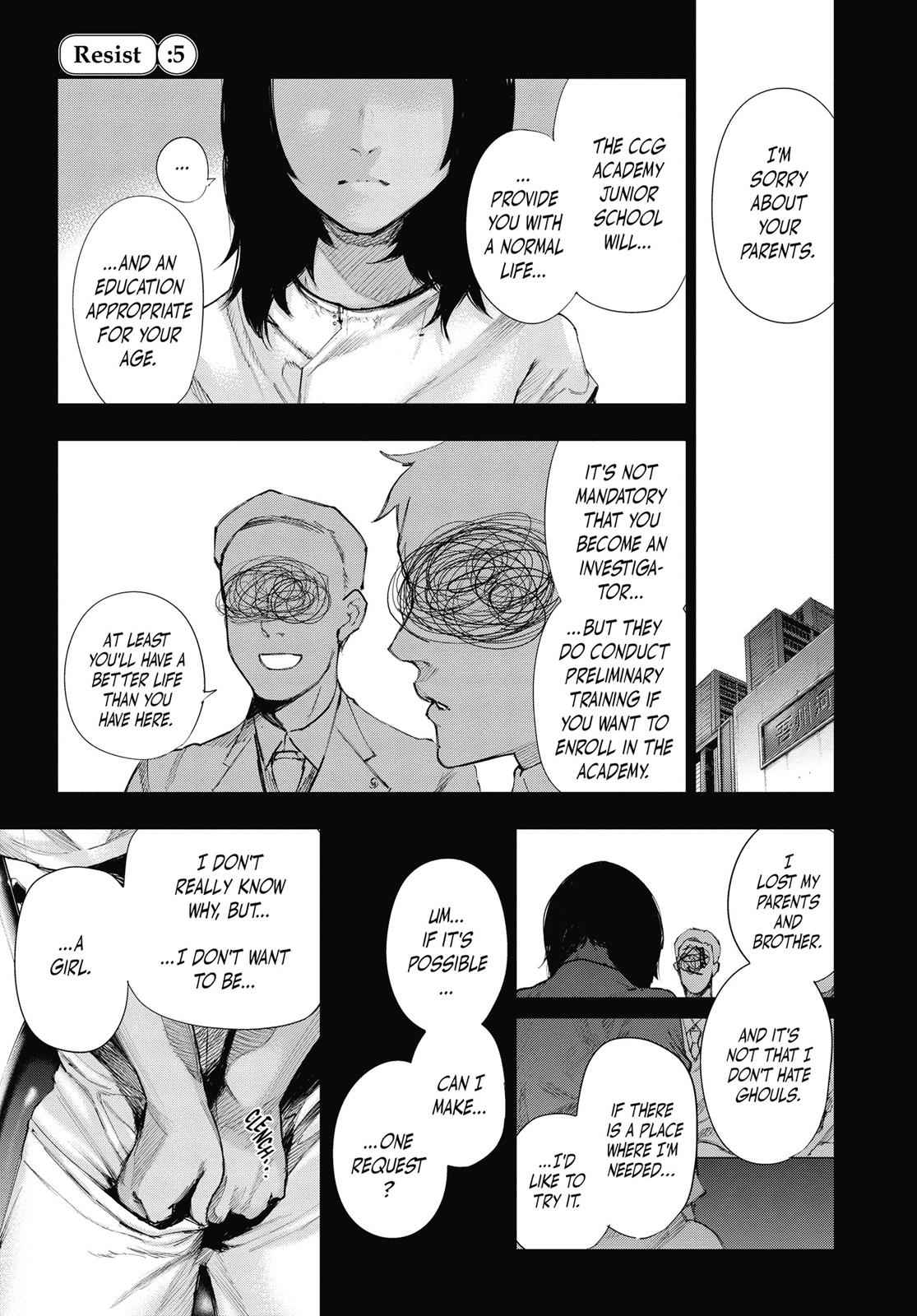 Tokyo Ghoul:re Chapter 5 Page 1