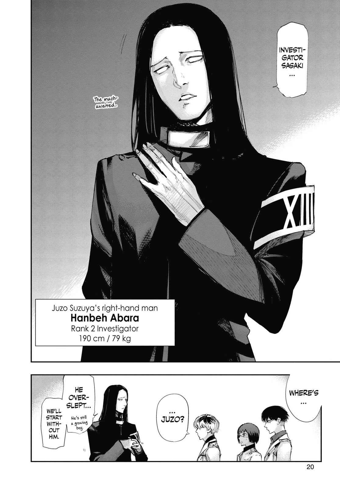 Tokyo Ghoul:re Chapter 10 Page 20